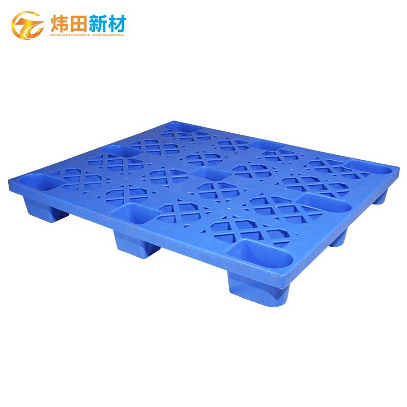 One way one time use Nine feet nestable plastic pallet euro size 1200*1000mm made by PP HDPE for industry use nice quality
