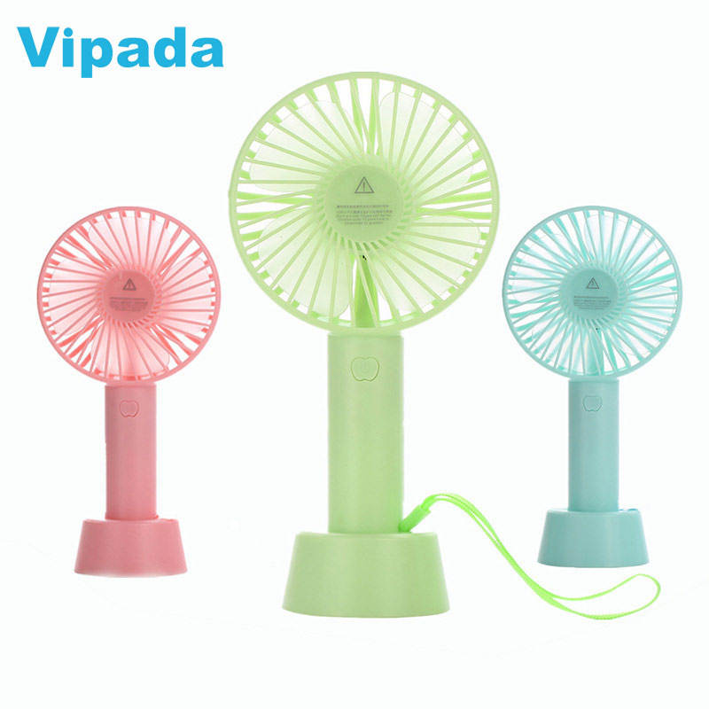 Wholesale Portable Mini USB Rechargeable Handheld Fan Handfan Standing Personal Cooling Mini Electric Battery Hand Fan
