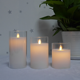 Wholesale led Glass Jar candle