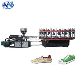Semi-automatic Single-color shoes injection&jointing molding machine