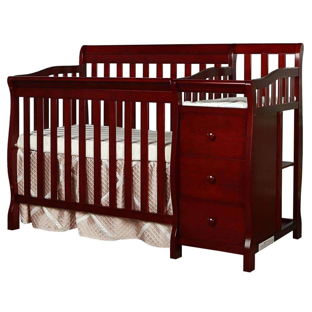 wooden baby crib modern baby bed baby cot