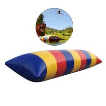 Top Quality Cheap Price PVC Inflatable Lake Water Zone Blob Jump or Jumping Pillow for Rental