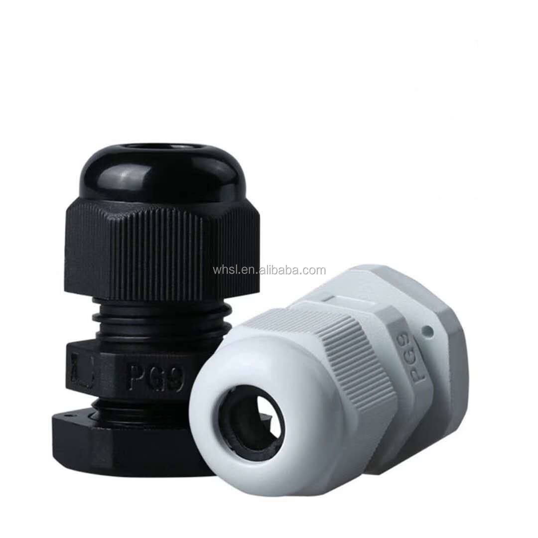 PG11 Nylon cable gland standard size ROHS CE waterproof