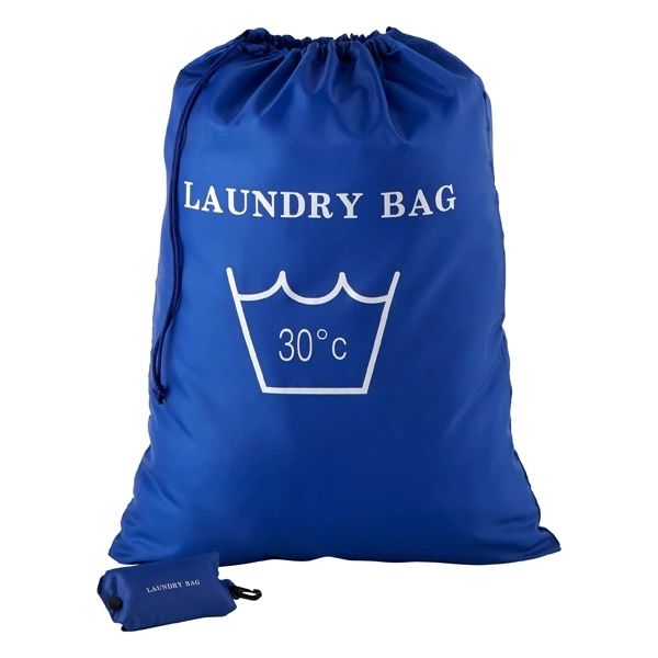 Eco-friendly Customized wholesale nylon drawstring big hospital laundry bag with logo
