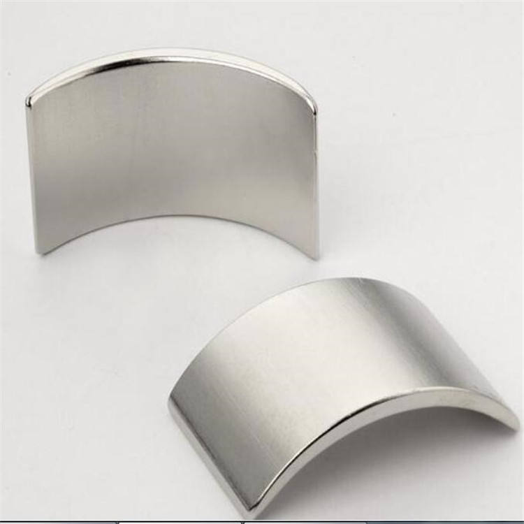 China super strong permanent neodymium curved neodymium magnet
