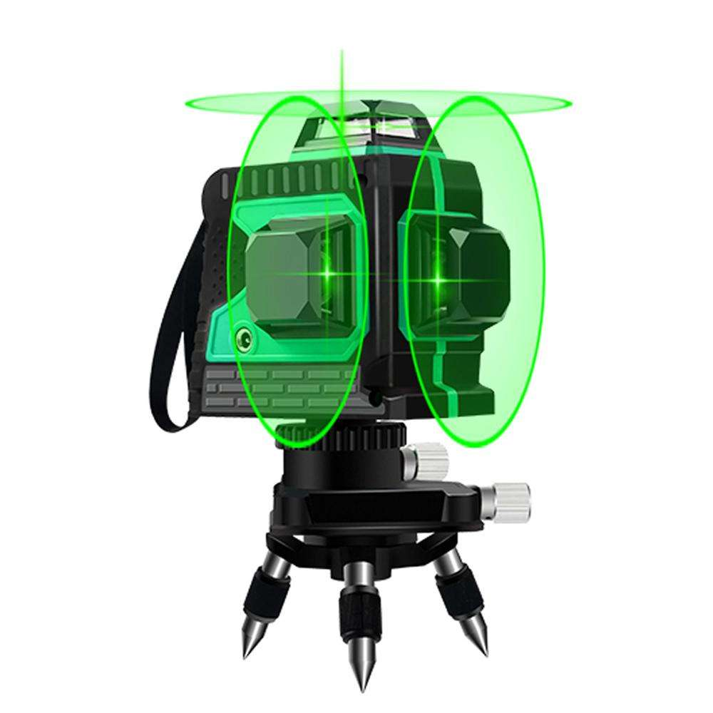 Nahom 12 Lines 3D Green Laser Levels Self-Leveling 360 rotary laser level