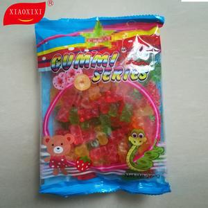Hala gummy heißer verkauf gelee gummiartige bonbons hohe qualität süßigkeiten sweets hohe qualität groß verpackung
