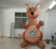 3m height advertising inflatable roo models/giant inflatable kangaroo for Christmas