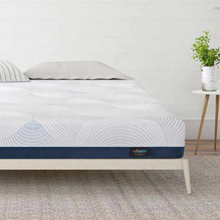 Cloud Collection King Size Memory Foam Mattress in a box