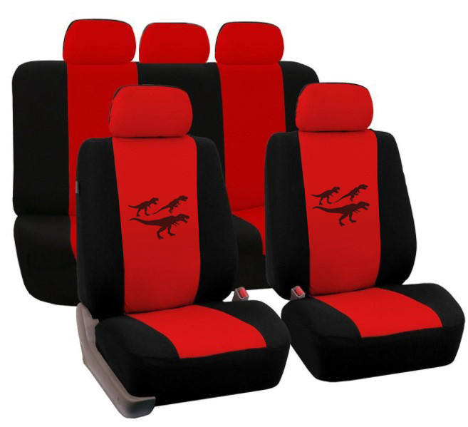 Low Price Customized Pattern Universal Knitted fabric Car Seat Covers