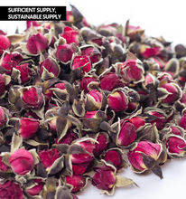 Aromatic flower herbal rose with golden rim tea can for beauty