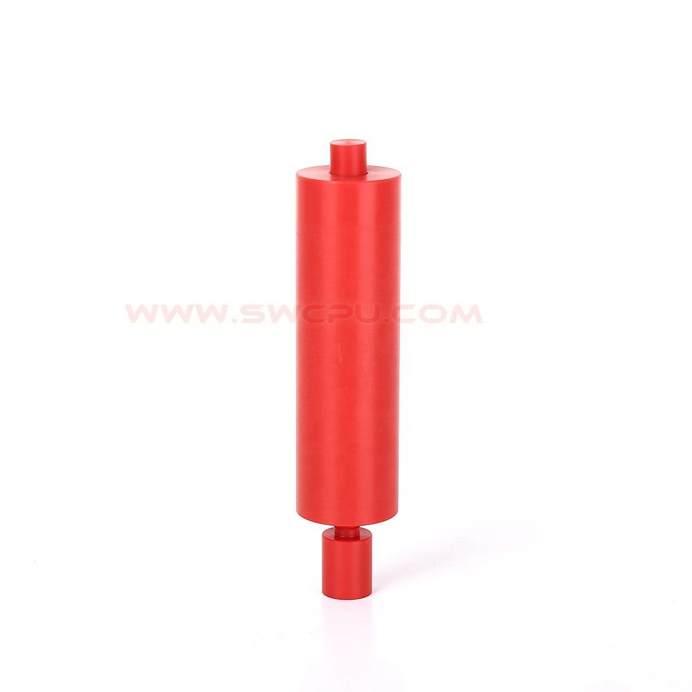 China Factory high quality custom injection molding plastic pe threaded rod