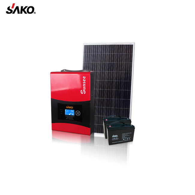 SUNSEE-3KVA/2400W 24V CE ROHS approved off grid Pure sine wave hybrid solar inverter without battery