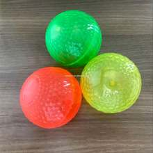 2019 hot selling customized TPU air bouncing balls with flashing light promotional tpu bouncing ball toys