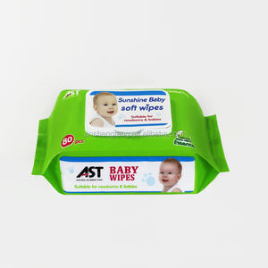 Custom Design Personal care baby wet wipes manufacturer free sample
