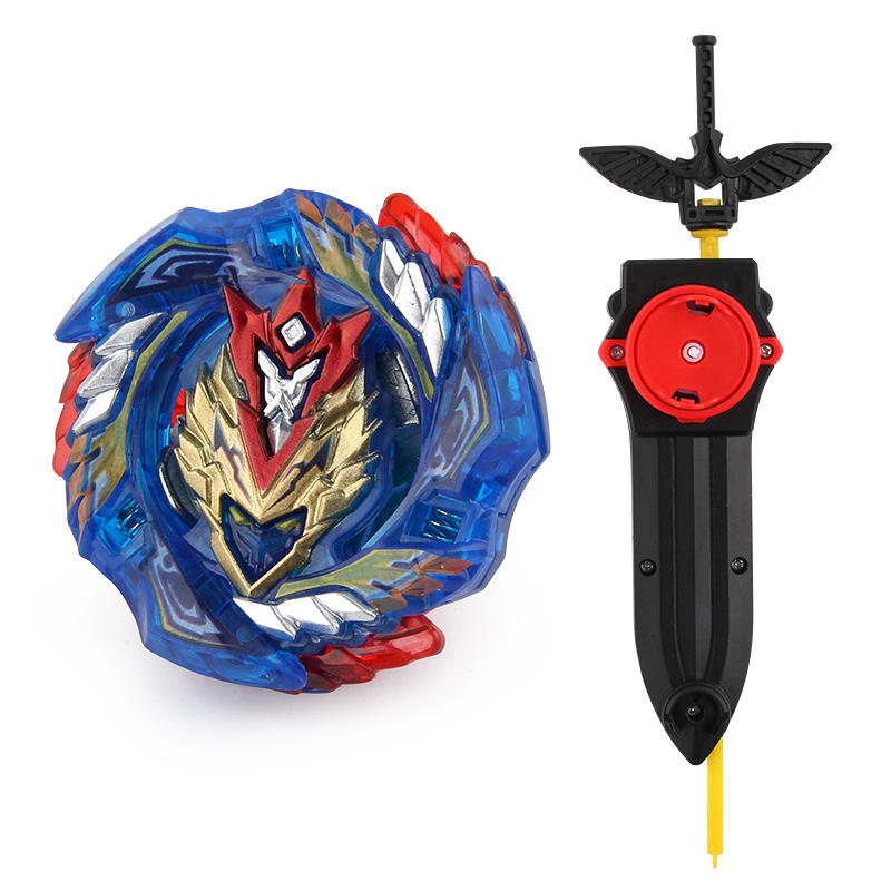 Beyblades Metal Fusion Toy Battle Bayblade Burst Spinning Top Toy Kids Gyro B-127 with Beyblades Launcher