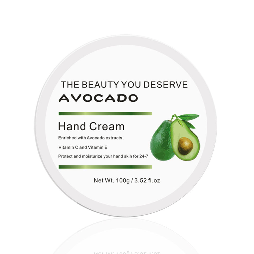 Ultralow MOQ 200 glycerol Skin care Avocado hand cream Moisturizing Whitening