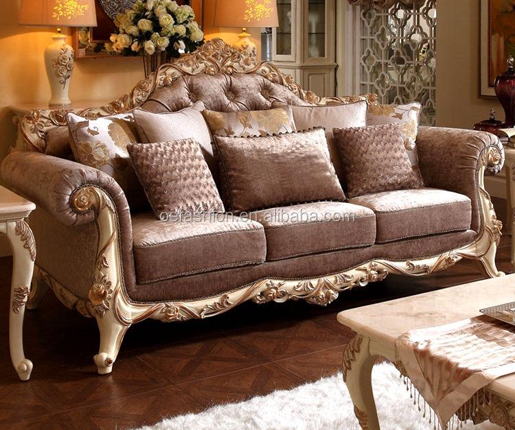 OE-FASHION madera de lujo salón sofá <span class=keywords><strong>muebles</strong></span> establece diseños en casa