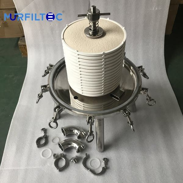Beer& Winery Lenticular Filter housing (Depth Module and sanitary grade)
