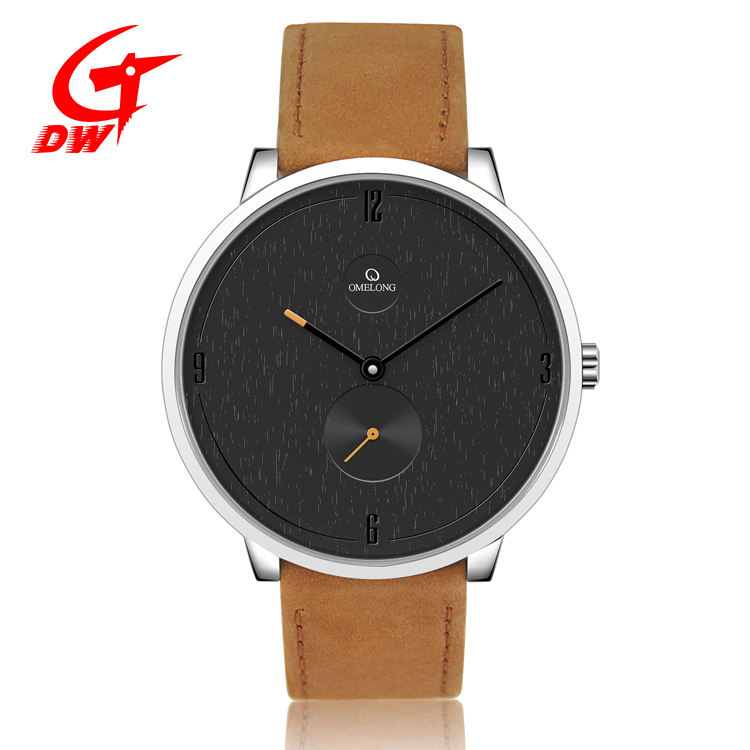 luxury men unisex oem watches stainless steel leather strap king quartz japan movement stainless steel watch