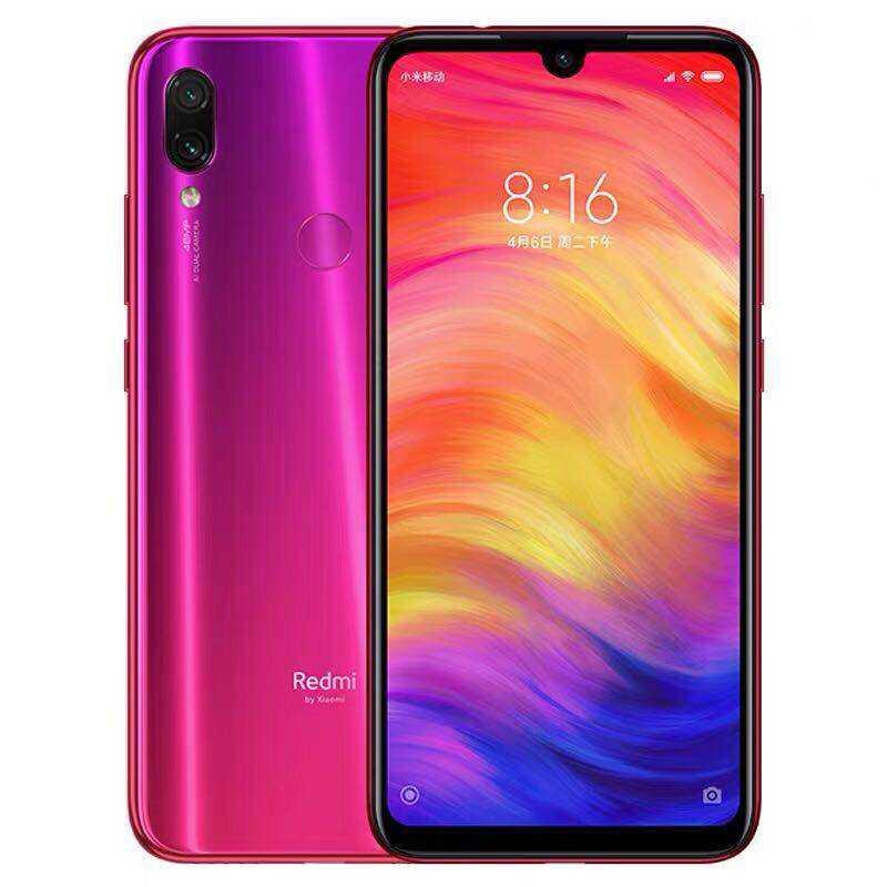 الأصلي Xiaomi Redmi ملاحظة 7 أنف العجل 660 6 GB RAM 64 GB ROM 4000 mAh بطارية كبيرة 4g هاتف LTE الذكي