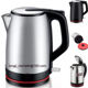 2019 electric kettle 110v big size 2.0L stainless steel electric kettle water boil jug