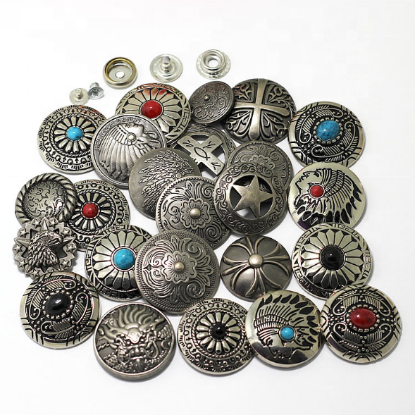 Factory Custom Conchos Metal Conchos Screw Back With Good Price