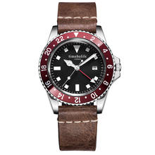 10ATM Sapphire Crystal Stainless Steel Bezel Insert Luminous Diver Watch Automatic