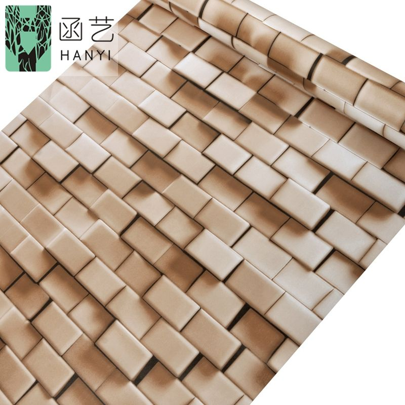 3d wall sticker wallpaper brick style for home decor feature wall paper