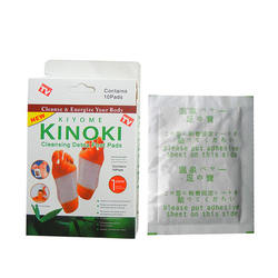 kinoki bamboo gold relax detox foot patch