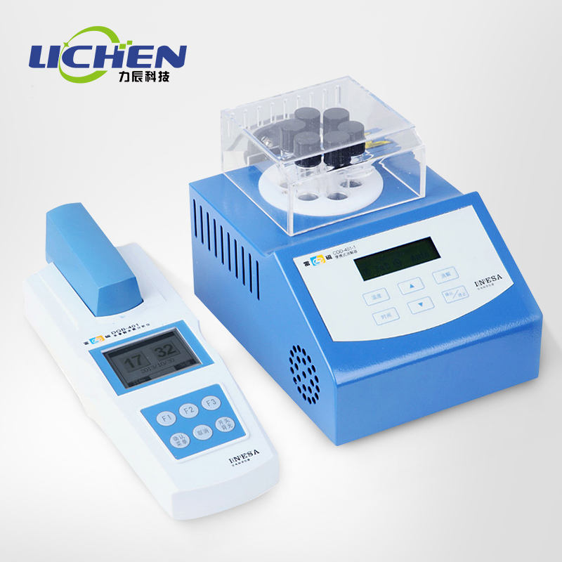 DGB-401 Cod Amonia Nitrogen/Total Fosfor/Kualitas Air Photoelectric Metode Kolorimetri Multi-parameter Analyzer