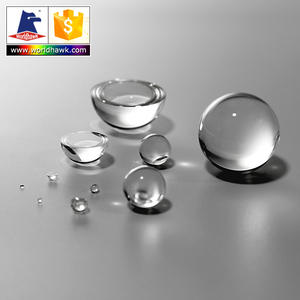 Hot sale on shelf H-K9L or BK7 glass ball lens and half ball lenses diameter 1mm 2mm to 10mm on inventory