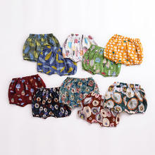 High quality infant & toddler baby bloom shorts 100% cotton flower pattern baby cover shorts