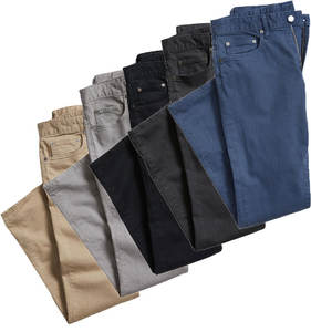 Custom cotton mens khaki chino pants denim casual new pattern jeans pants for men