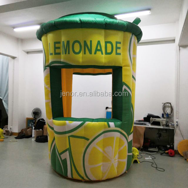 China Fabriek Opblaasbare Limonade Stand Bar Booth voor Reclame