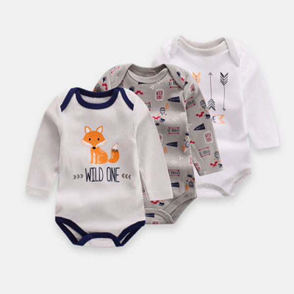 Cotton baby clothes baby clothes gift set onesie