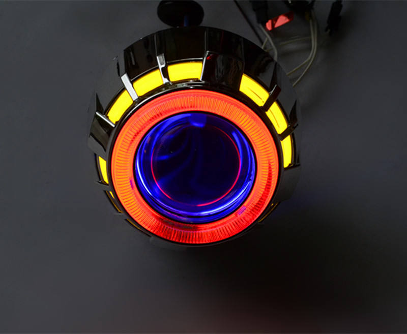 2.5/3.0 inch 35 W 55 W h1 양극 rf 및 제 논 hid 프로젝터 lens <span class=keywords><strong>빛</strong></span> 와 angel 눈 대 한 cars