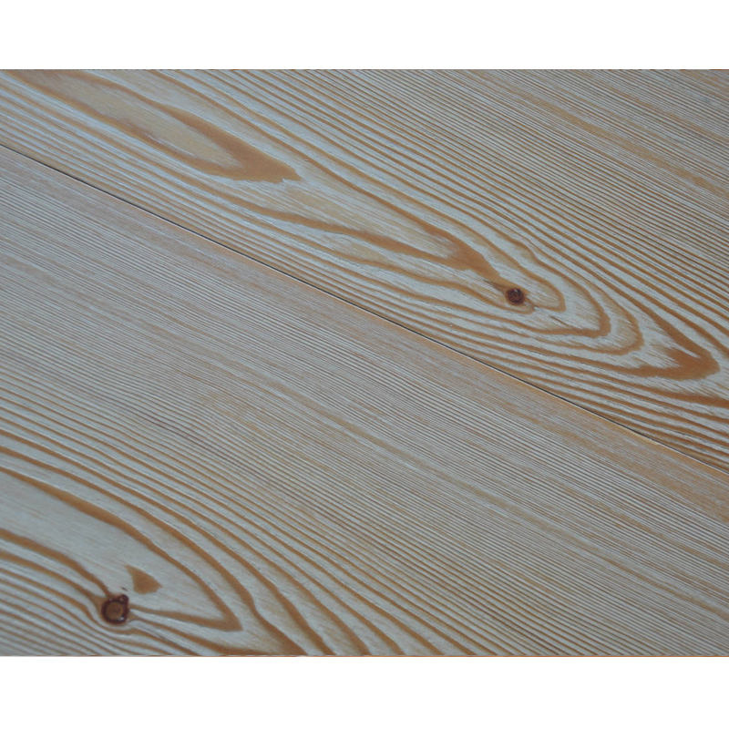 Manufacturer larch 3-layer hardwood flooring brushed larch solid wood engineered flooring