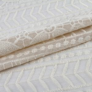 New arrival georgette italian chiffon fabric embroidery fabric textile china