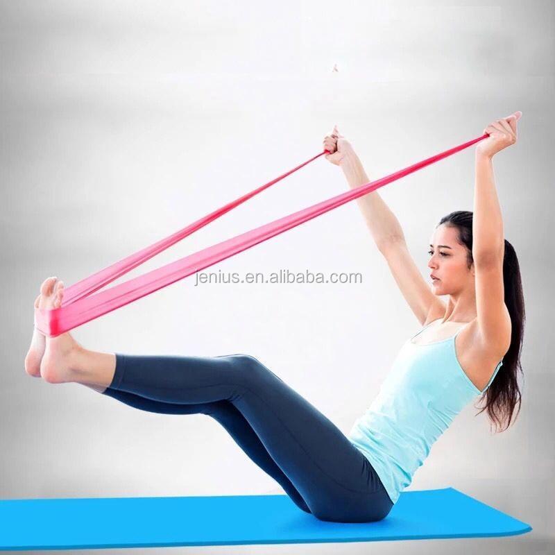 Per la parte superiore del corpo <span class=keywords><strong>inferiore</strong></span> del corpo e core esercizio fasce di resistenza del lattice spedizione