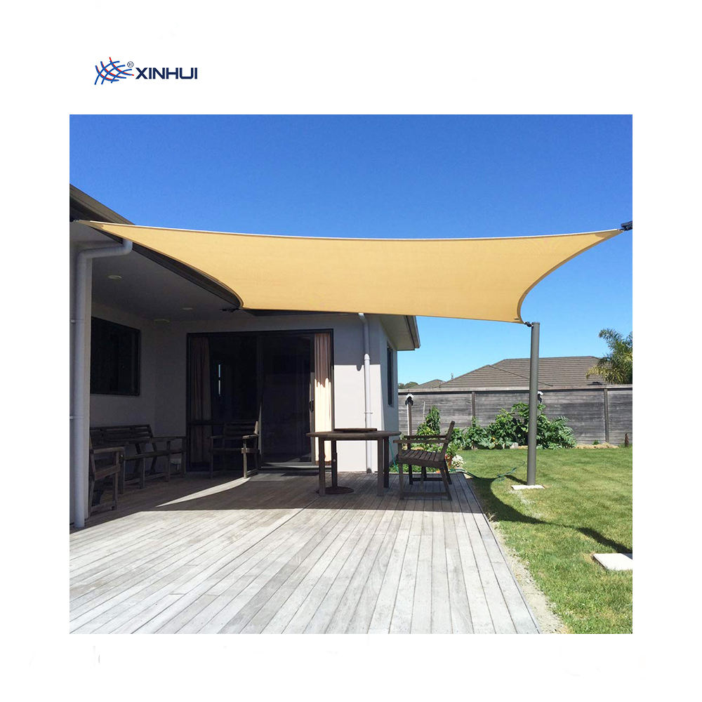 newest design low price wave sun fabric outdoor sail shade