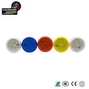Suministro de China de impermeabilización IP65 AC24V 2 W único color de luz cambiante E14 llevó la luz de bulbo