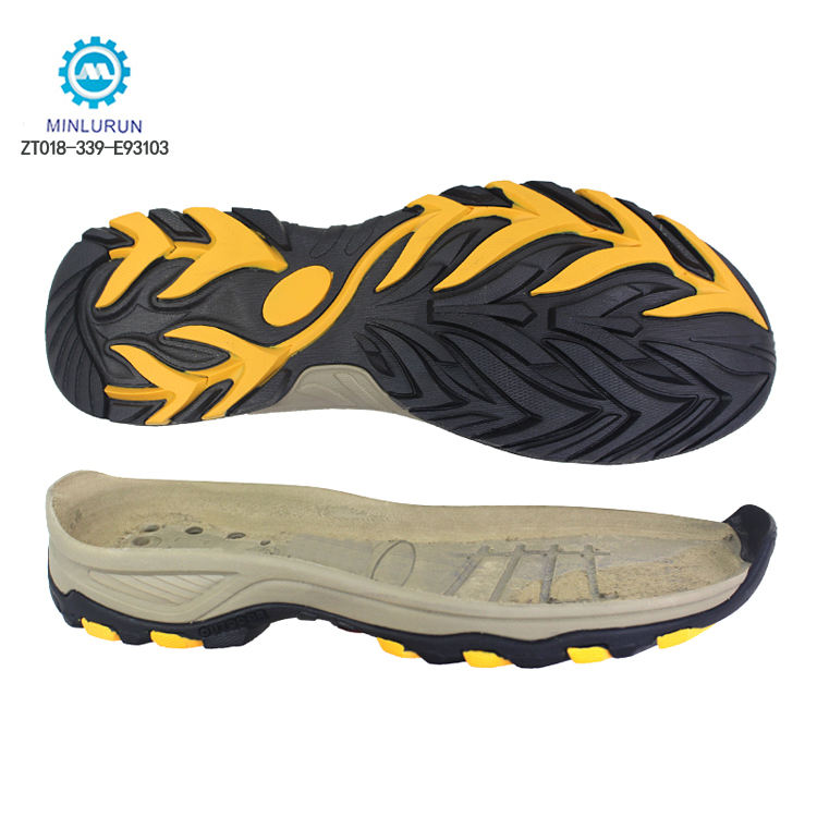최신 Design 야외 Shoes Outsole EVA + TPR Materials Non-Slip 하이킹 Shoes 솔