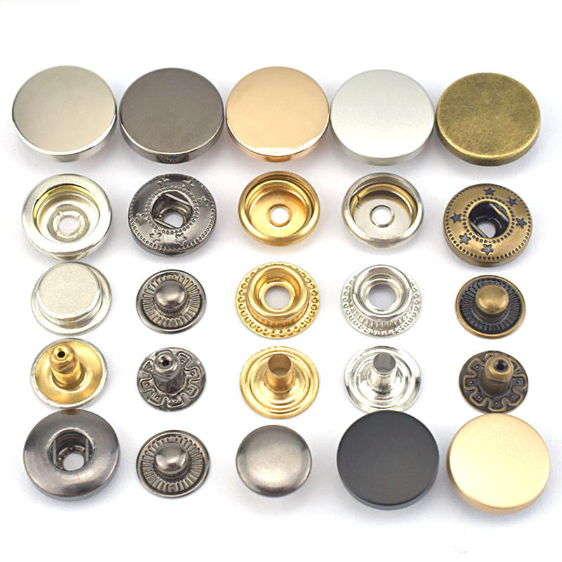Fancy shirt rivet garment custom metal snap button sewing accessories metal buttons