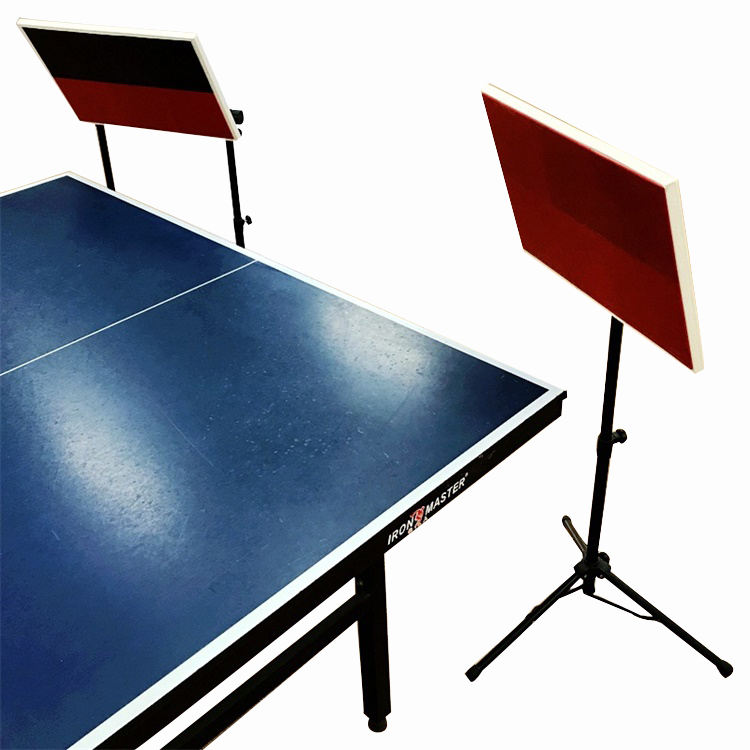 520*350mm standard size adjustable table tennis training equipment indoor return table tennis board