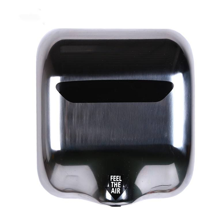 Wholesale Mini Office Electric Single Side Jet Air Stainless Steel Case Hand Dryers