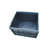 high quality plastic folding tote box turnover box
