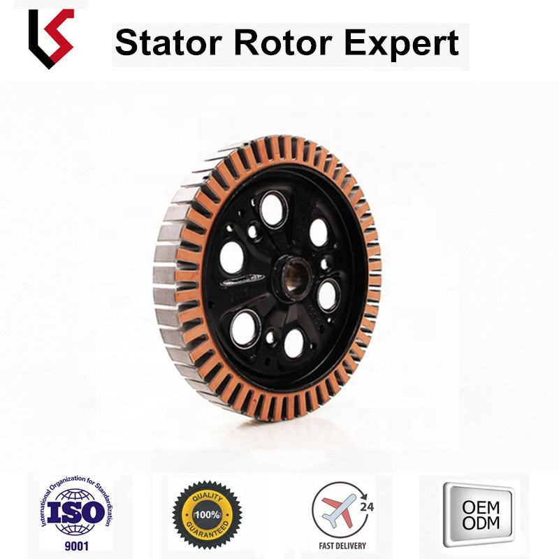 motor rotor stator lamination core Frame stator assy hybrid or electric friven car customization OD 206.8
