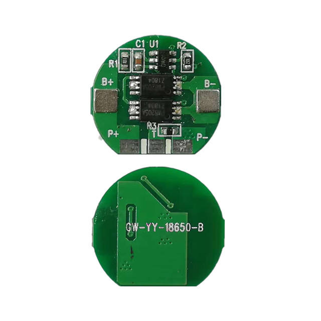 1s bms 3.7v for li-ion battery pack protection circuit board