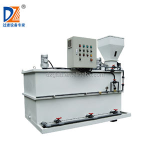 Dazhang 24 hours automatic dry powder mixing machine polymer dosing system for waste water treatment